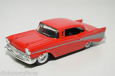 ERTL FORD CHEVROLET TWO DOOR HARD TOP RED MINT CONDITION