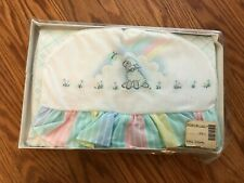 New Vintage Pastel Colors Diaper Stacker With Little Lamb