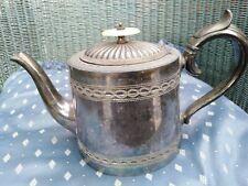 Victorian Silver Plate Teapot