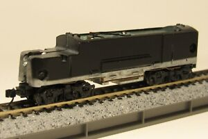 "Intermountain ""N"" EMD F7B / F7A Locomotive Power Chassis ""Black"" Trucks OEM-New!"