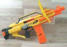 Nerf Stampede ECS Blaster with Cartridge, Blast Shield & Darts.