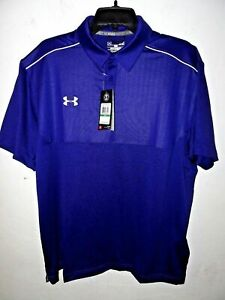 NEW Under Armour Golf Polo Shirt Short Sleeve Loose Fit S M L XL 2XL