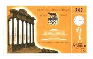 RARE MUHAMMAD ALI 1960 ROME OLYMPICS Games Boxing Used TICKET Stub CASSIUS CLAY
