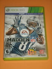 XBOX 360 EA SPORTS MADDEN 13 CALVIN JOHNSON VIDEO GAME KINECT DETROIT LIONS