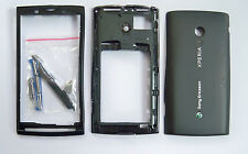 Black Housing Case Cover fascia facia faceplate For Sony Ericsson X10 Xperia