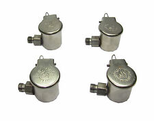"""RDGTOOLS 4 X 1"""" SPRING OIL CUPS SIDE FITTING 1/8"""" BSP FITTING MILLING LATHE"""