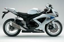 SUZUKI TOUCH UP PAINT KIT GSXR600 GSXR1000 K8 GLASS SPLASH WHITE & MYSTIC SILVER