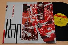 2LP-THE GENIUS OF RAP-1°ST UK 1988 TOP EX CONDITION