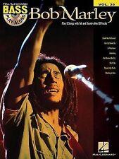 NEW Bob Marley - Bass Play-Along Volume 35 (Book/Cd) by Bob Marley