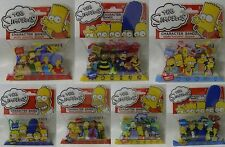 Simpsons Logo Silly Bandz Complete Lot of 6 Packs (no TV characters)