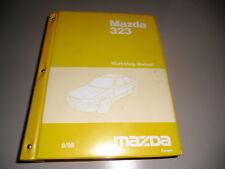 Werkstatthandbuch Workshop Manual Elektrik Mazda 323 RF Turbo, 8/1998