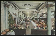 Postcard WARREN Pennsylvania/PA  13th Annual Flower Show at National Bank 1937