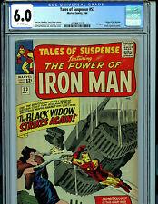 Tales of Suspense #53 CGC 6.0 Marvel Comics 1964 2nd Black Widow Watcher K22
