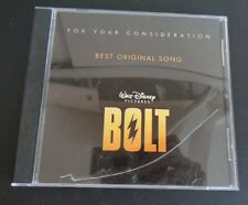 DISNEY Bolt FYC For Your Consideration CD Best Original Song 2008 Free Shipping