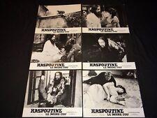 RASPOUTINE LE MOINE FOU christopher lee   jeu photos cinema lobby cards 1966