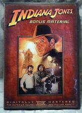 """Indiana Jones """"Bonus Material"""" - DVD 2003"""