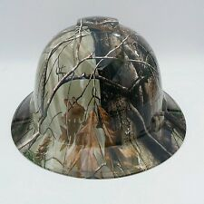 Hard Hat Full Brim custom hydro dipped ,Osha approved Deep Woods Safety Glasses