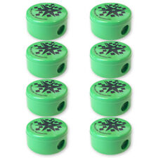 TNT PARTY PENCIL SHARPENERS (8) ~ Birthday Supplies Stationery Favors Toys Green
