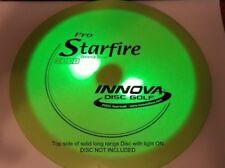 (4) Disc Golf dual white led light kit for Disc Golfing at night