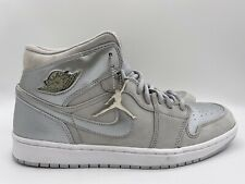 Nike Air Jordan 1 Retro 2001 Neutral Grey/Metallic Silver Size 11 136065-001