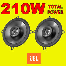 JBL 210W TOTAL 2WAY 5.25 INCH 13cm CAR DOOR/SHELF COAXIAL SPEAKERS BLACK PAIR