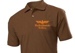 "Polo Shirt Waffenschmiede ""Ihre Stadt / Name"" Adler Gr S-XXL Weapon Blacksmith"