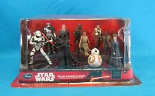 Disney Store Star Wars The Force Awakens Deluxe Figurine Playset New in Package