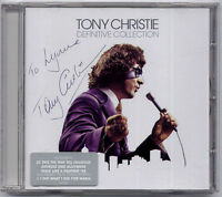 TONY CHRISTIE Definitive Collection autographed/signed CD + CoA