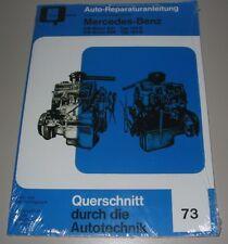 Reparaturanleitung Mercedes Benz OM Motor 621 / 636 190 D / 180 D W 121 Ponton!