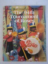 1983 TOURNAMENT OF ROSES OFFICIAL PROGRAM - 94TH - SEE PICS - TUB QQQQ