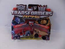 TRANSFORMERS RPM BATTLE SERIES 2 OPTIMUS PRIME VS DESERT LONG HAUL SEALED MOC