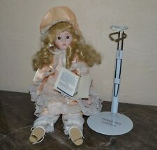 """Vintage 16""""  Porcelain Bisque Doll The Heritage Mint Collection Southern Bell"""