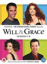 Will & Grace Saisons 1 à 8 Collection complète DVD NOUVEAU DVD (8313669)