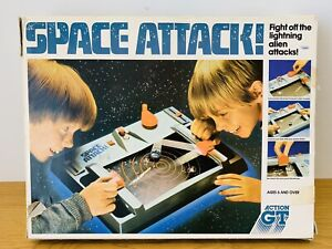Vintage Board Game Space Attack 1980s GT Action
