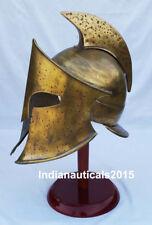 300 Spartan King Helmet MOVIE HALLOWEEN ARMOR Helmet Repalica With Stand
