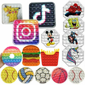 Fidget Toy Sensory Push Popet Bubble Stress Relief Kids Toys Tiktok Popular Toy
