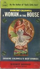 A Woman in the House Erskine Caldwell Vintage Paperback Very Good
