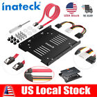 """Inateck SSD HDD Mounting Bracket 2.5 to 3.5"""" Internal Hard Disk Drive Cable Kit"""