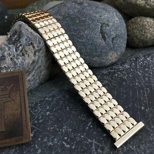 10k Gold-Filled Foster Expansion 19mm 18mm 16mm nos 1950s Vintage Watch Band