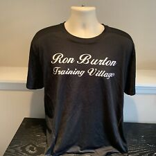 Ron Burton Training Village Now Is The Time Fitness T Shirt Mens Large
