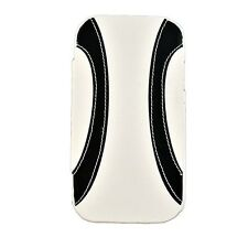 10 New White Black Leather Flip case for Samsung Galaxy S3 SIII Cover S 3 Phone