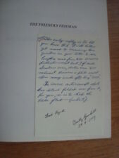 THE FRIENDLY FRIESIAN - BATTLE OF BRITAIN 1987 - Timothy GAMBRILL + lettres