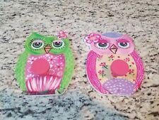 Owl Wall Hanger (set of 2)