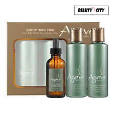 Agave Smoothing Trio SET(Shampoo, Conditioner & Oil Treatment)