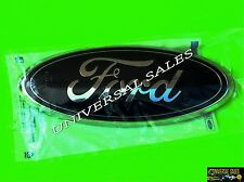 BLACK FORD EXPEDITION OVAL EMBLEM BADGE LOGO GRILLE FRONT 2010 - 2017 BRAND NEW