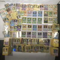 Pokemon Cards Lots Vintage 1st Edition Holo Ex Ultra Rare