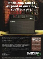 The Line 6 AxSys 212 guitar amp ad 8 x 11 advertisement print