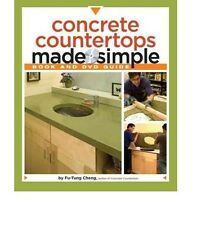 Concrete Countertops Made Simple Book and DVD Guide