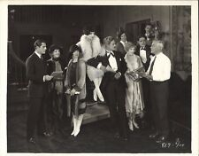 *THE BEST PEOPLE (1925) Keybook 8x10 CANDID Director, Cast, On-Set Mood Musician