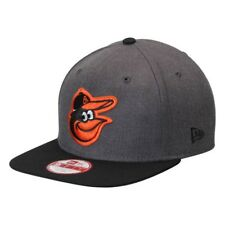 Baltimore Orioles Men s New Era Heather Graphite Black 9FIFTY Snapback 512d2aaa937a